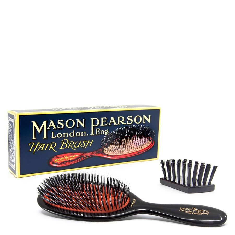 Mason Pearson Brush Bn2 Medium - Bristle/Nylon Junior