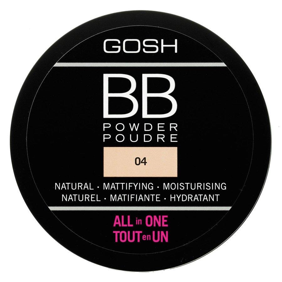 GOSH BB Powder 6,5 g ─ #004 Beige