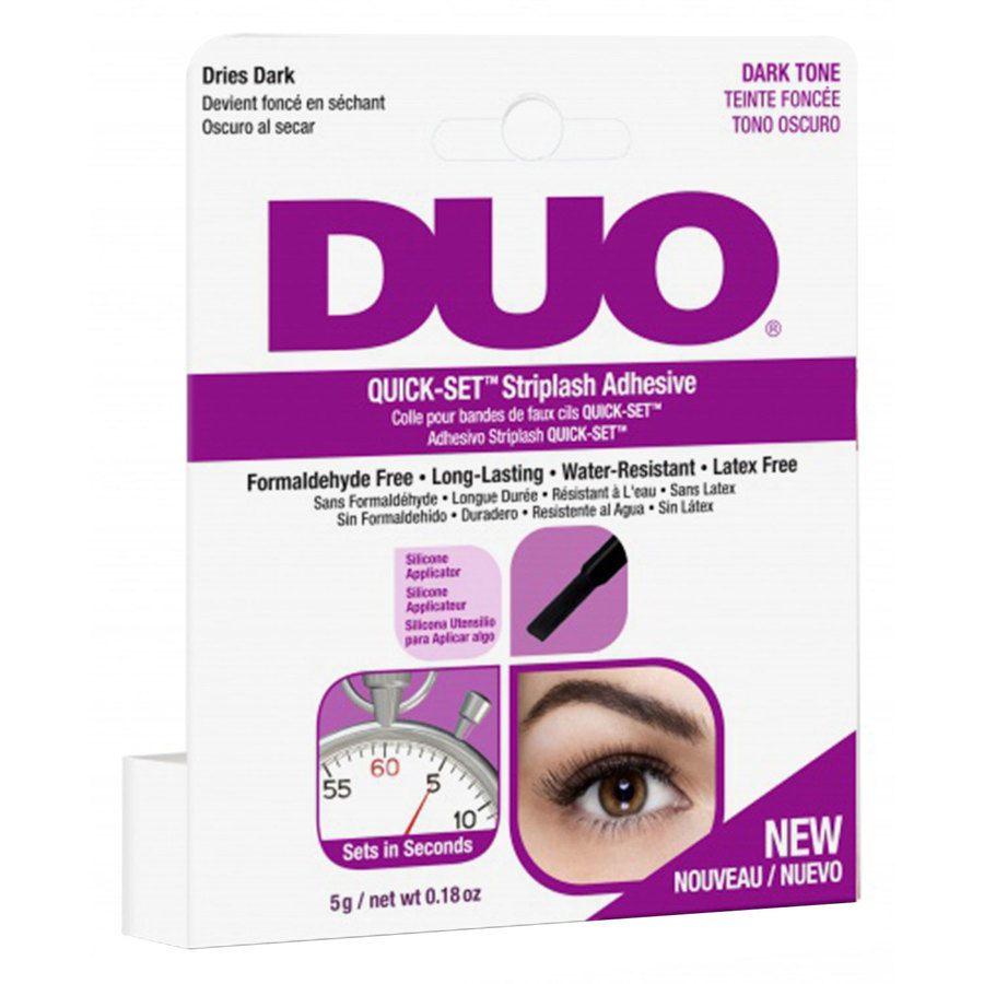 Duo Quick Set Striplash Adhesive Brush Dark 5 g