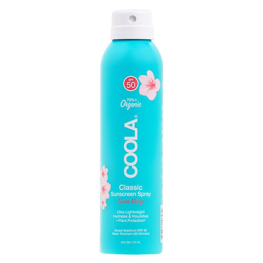 Coola Classic Spray SPF 50 Guava Mango 177 ml