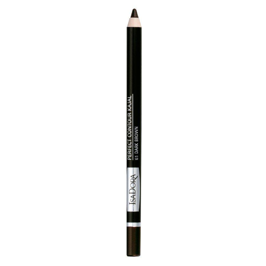IsaDora Perfect Contour Kajal 1,3 g - 61 Dark Brown