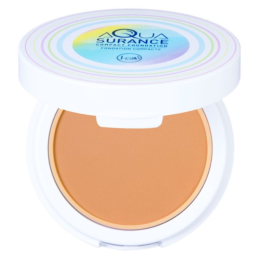 J.Cat Aquasurance Compact Foundation 9 g - Medium Beige