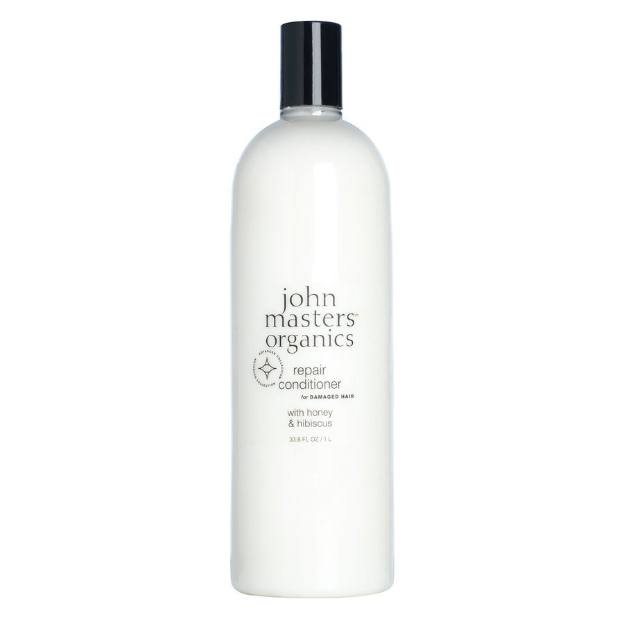 John Masters Organic Repair Conditioner For Damaged Hair With Honey & Hibiscus 1000 ml