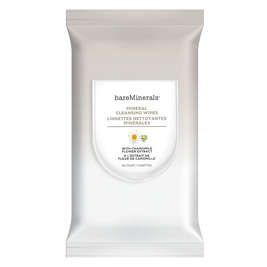 bareMinerals Mineral Cleansing Wipes 45 kpl