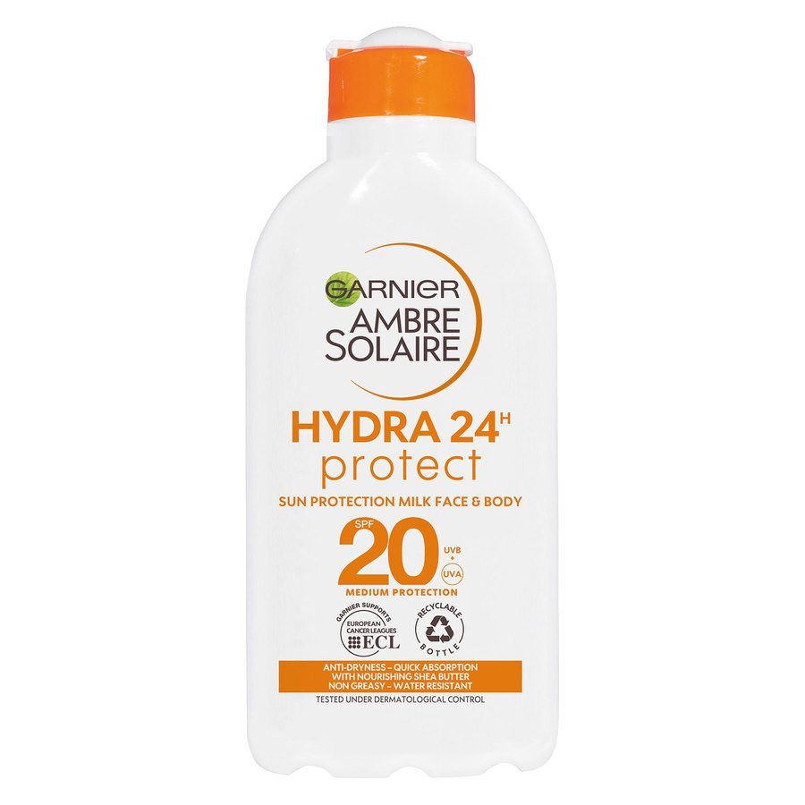 Garnier Ambre Solaire Sun Protection Milk SPF 20 200 ml