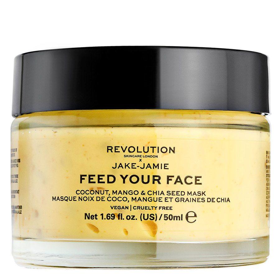 Revolution Skincare x Jake-Jamie Coconut, Mango&Chia Seed Radiant Glow Face Mask 50 ml