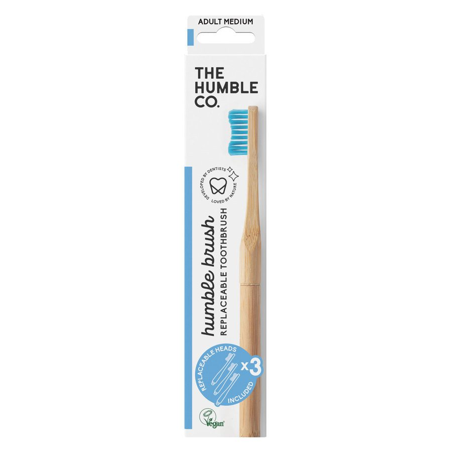The Humble Co Humble Brush Interchangeable Head – Blue Medium
