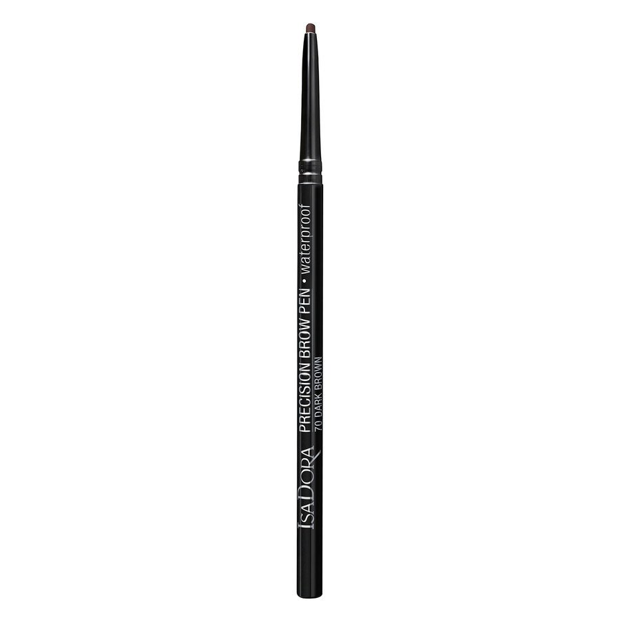IsaDora Precision Brow Pen Waterproof 0,09 g ─ #70 Dark Brown
