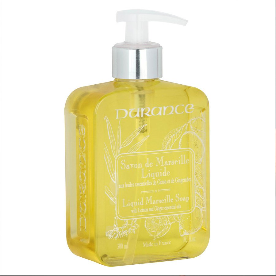 Durance Marseille Liquid Marseille Soap With Lemon and Ginger 300 ml