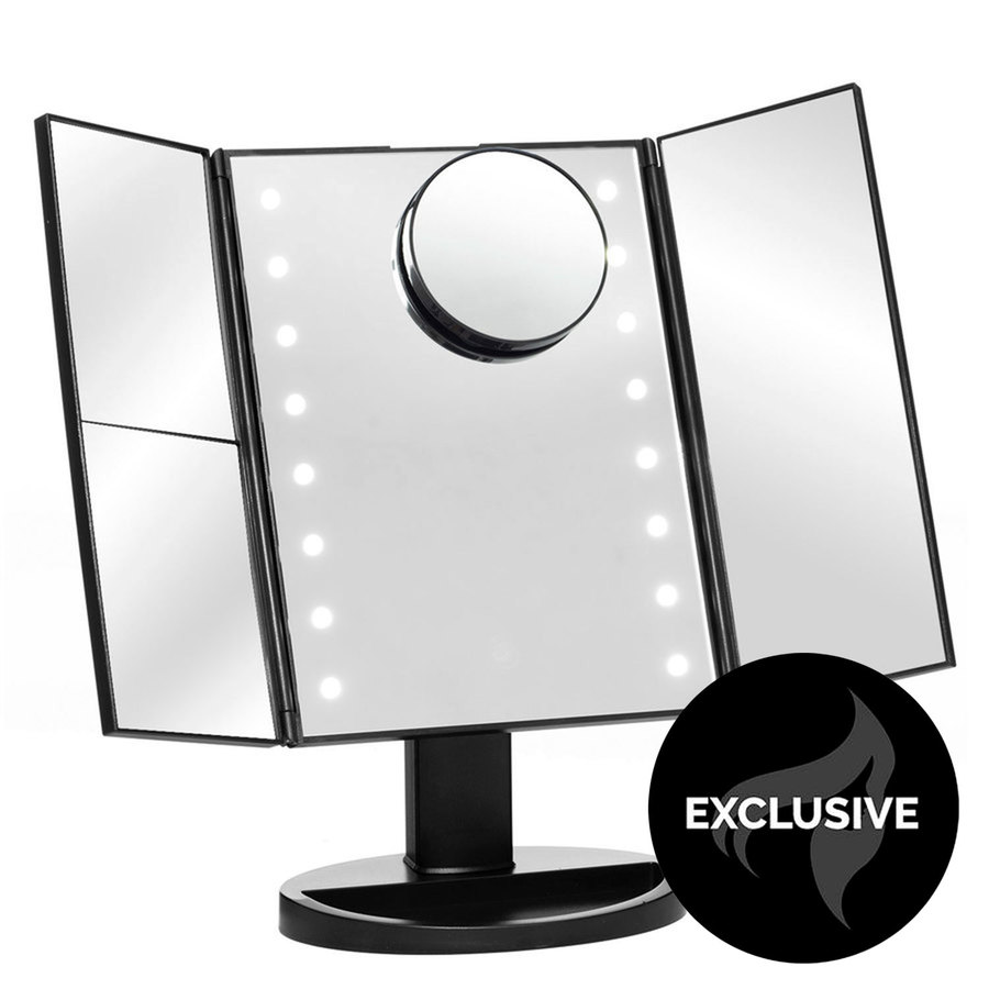 Shelas 16LED Makeup Mirror With Integrated Tray