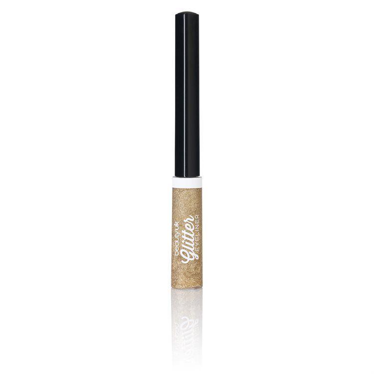 Beauty UK Glitter Liquid Eyeliner no. 2 Gold