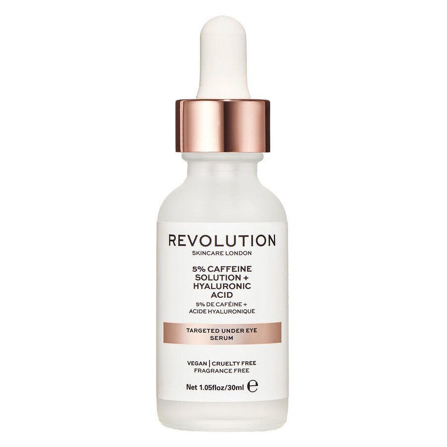Revolution Skincare 5% Caffeine Solution+Hyaluronic Acid Targeted Under Eye Serum 30 ml