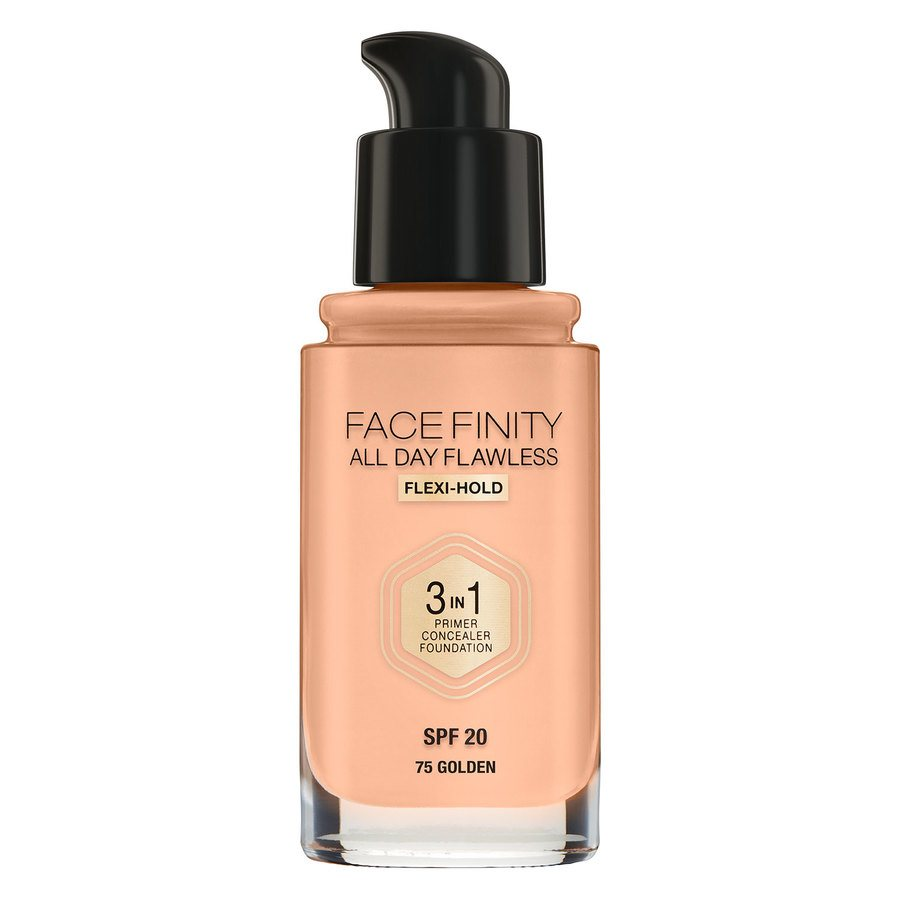 Max Factor Facefinity All Day Flawless 3-in-1 Foundation 30 ml – 75 Golden