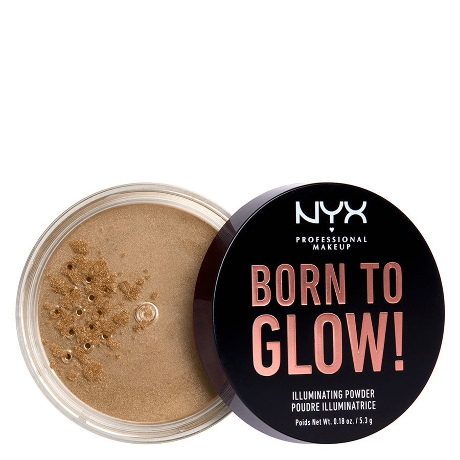 NYX Professional Makeup Born To Glow Illuminating Powder 5,3 g - Ultra Light Beam