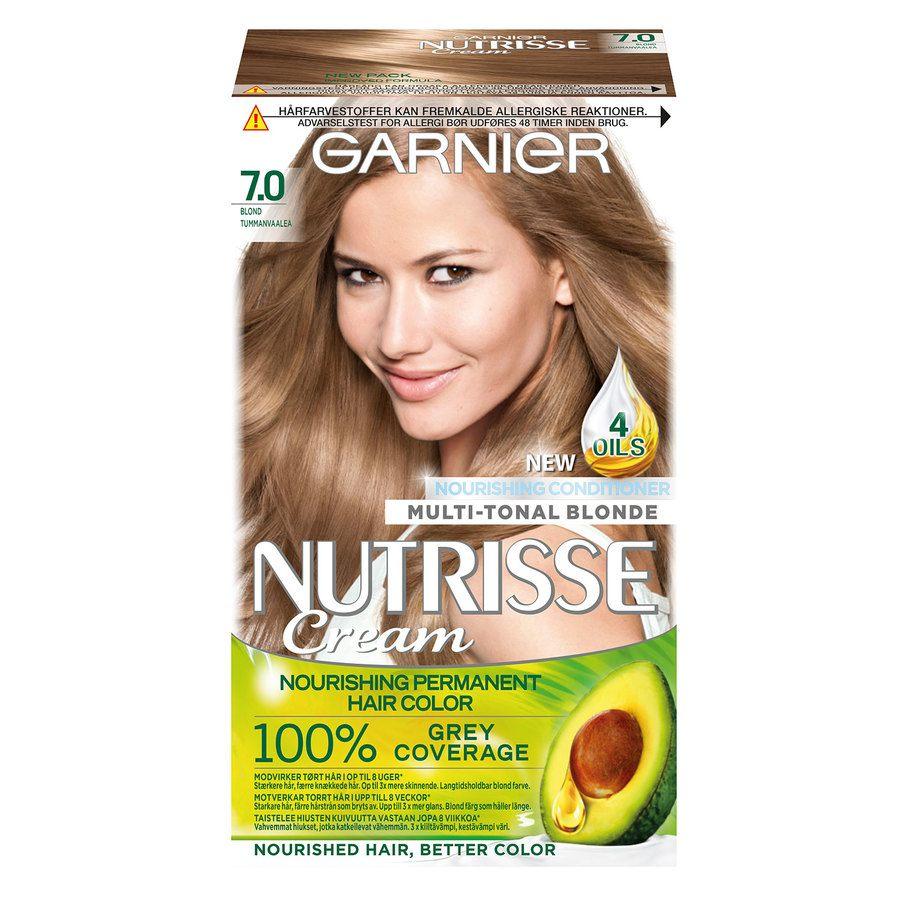 Garnier Nutrisse Cream 7.0 Tummanvaalea