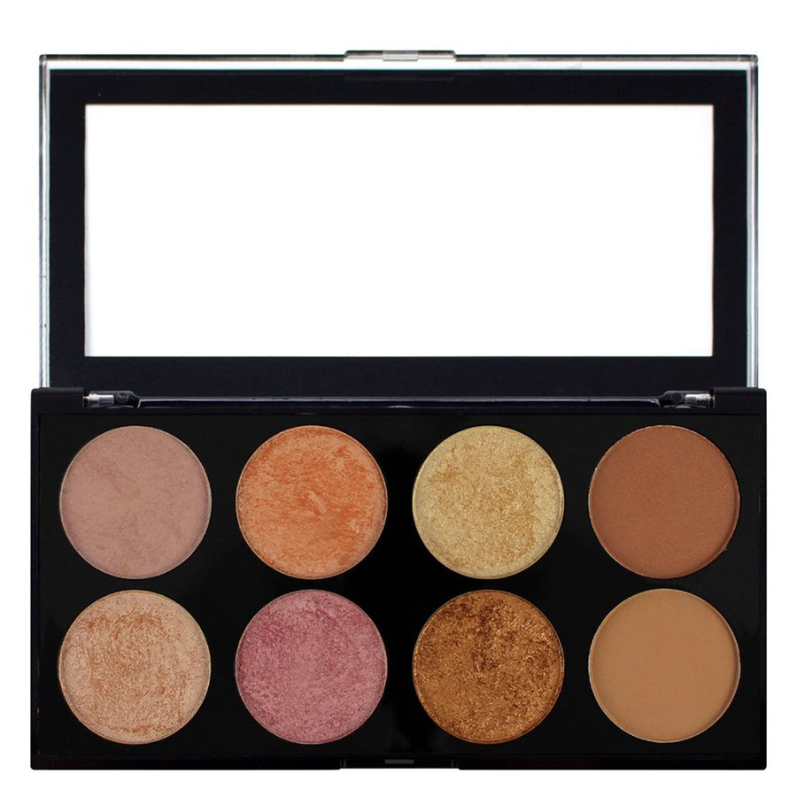 Makeup Revolution Ultra Blush Palette Golden Sugar 13 g - 2 Rose Gold