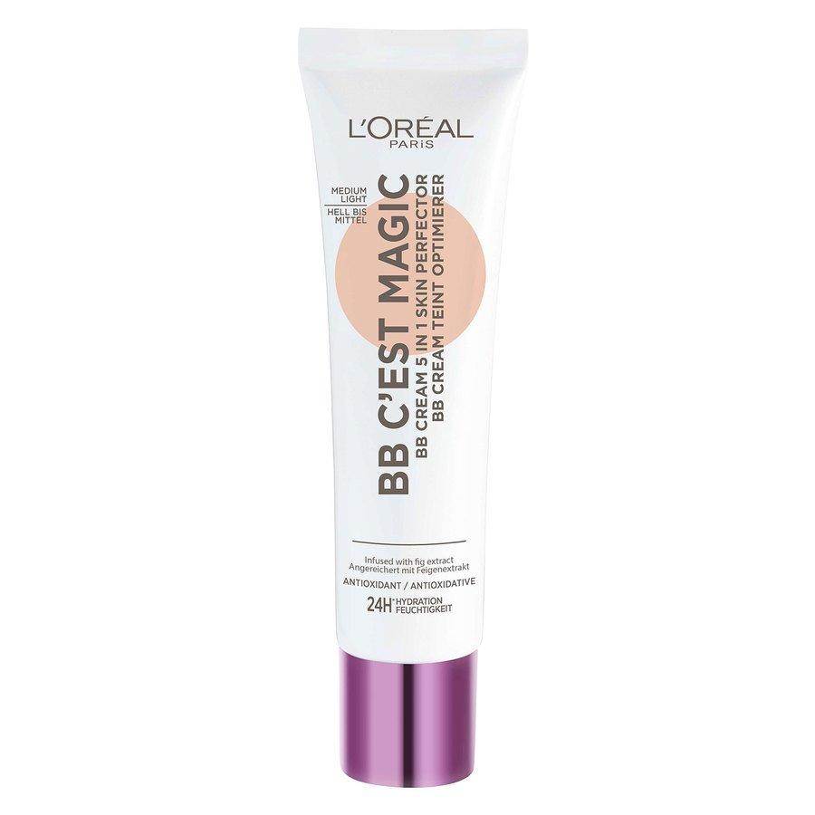 L'Oréal Paris C'est Magique Skin Perfector BB Cream Medium Light #3 30ml