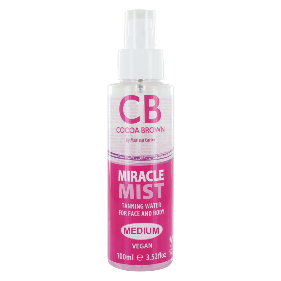 Cocoa Brown Miracle Mist Tanning Water 100 ml – Medium