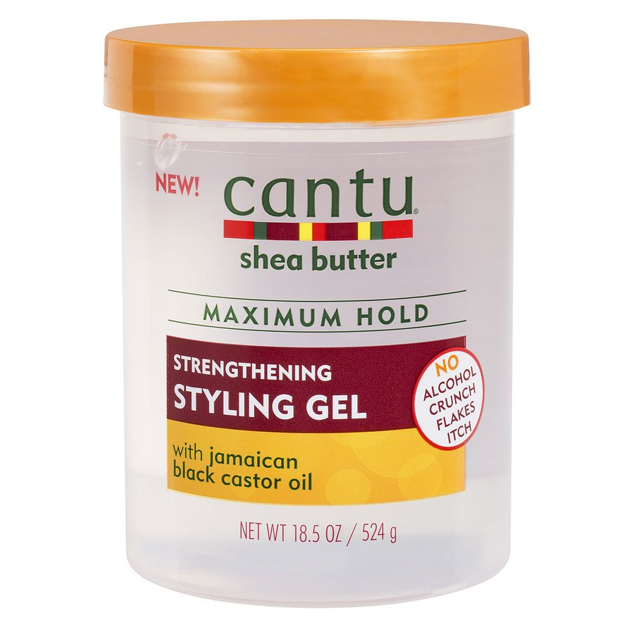 Cantu Shea Butter Maximum Hold Strengthening Styling Gel 524 g