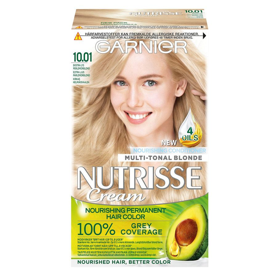 Garnier Nutrisse Cream 10.01 Kirkas helmiäisvaalea