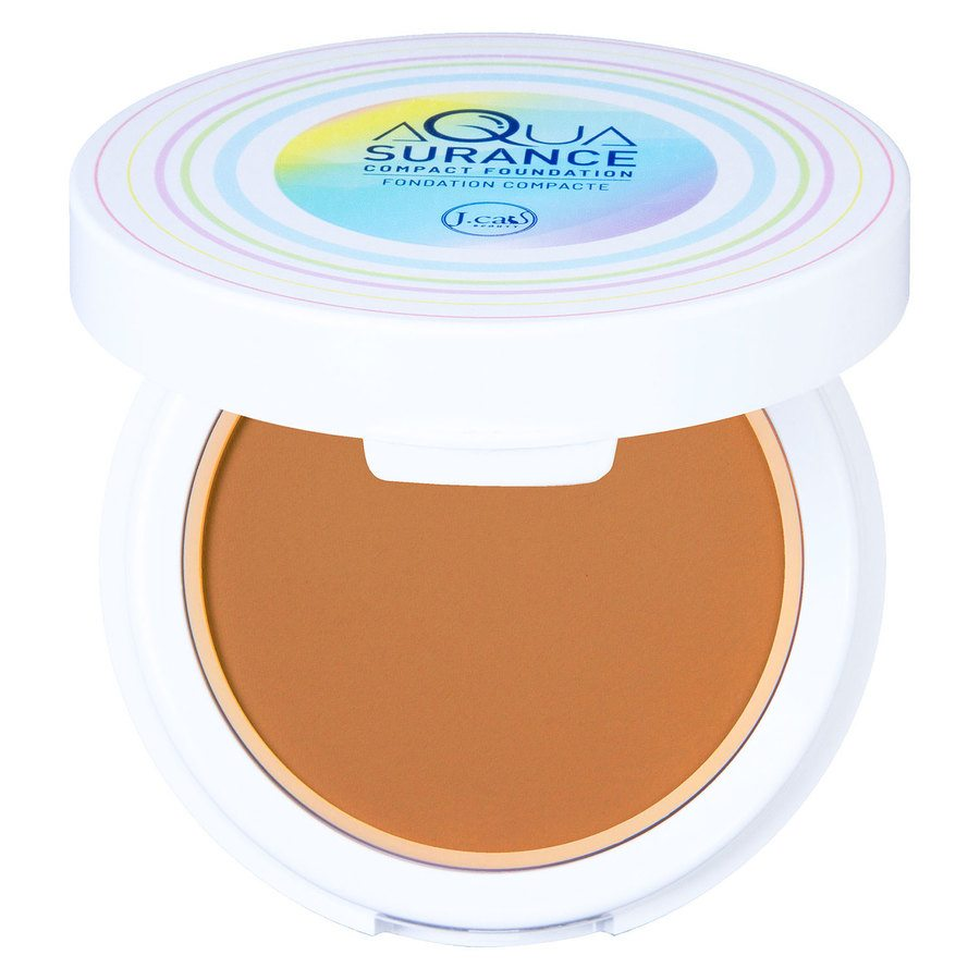 J.Cat Aquasurance Compact Foundation 9 g - Honey