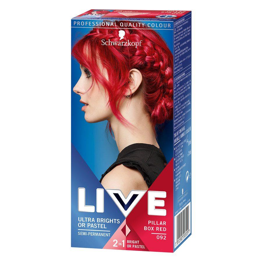 Schwarzkopf Live Ultra Bright – 92 Red