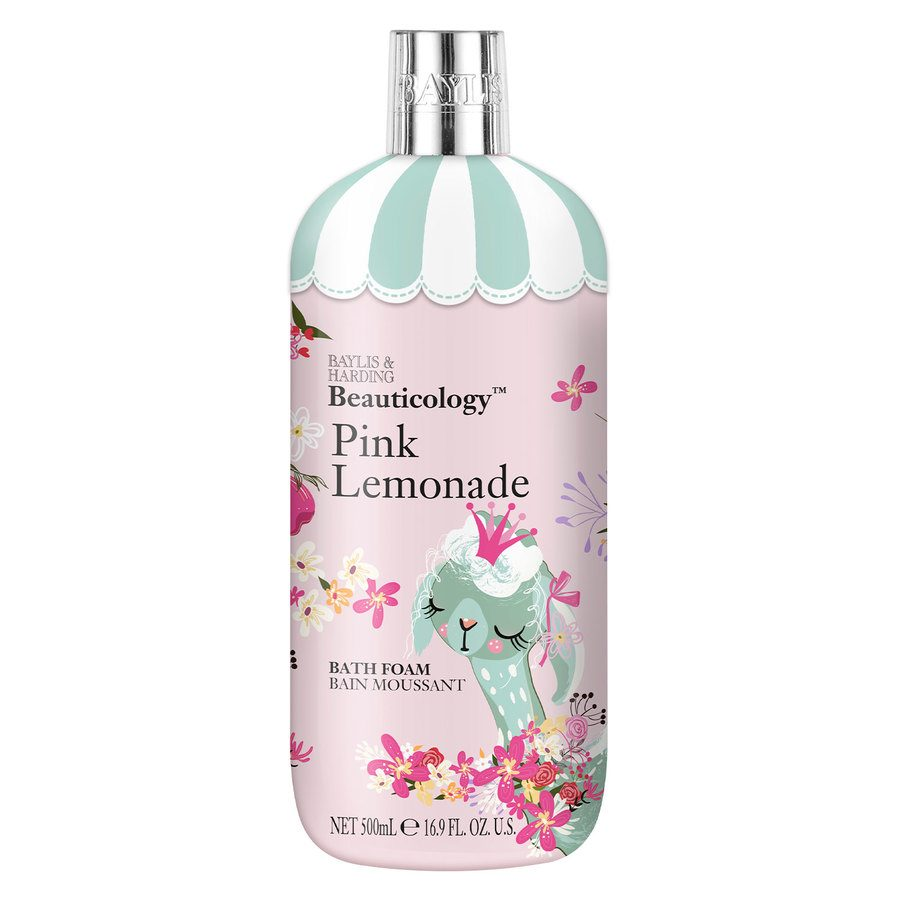 Baylis & Harding Beauticology Lama Pink Lemonade Bath Foam 500 ml