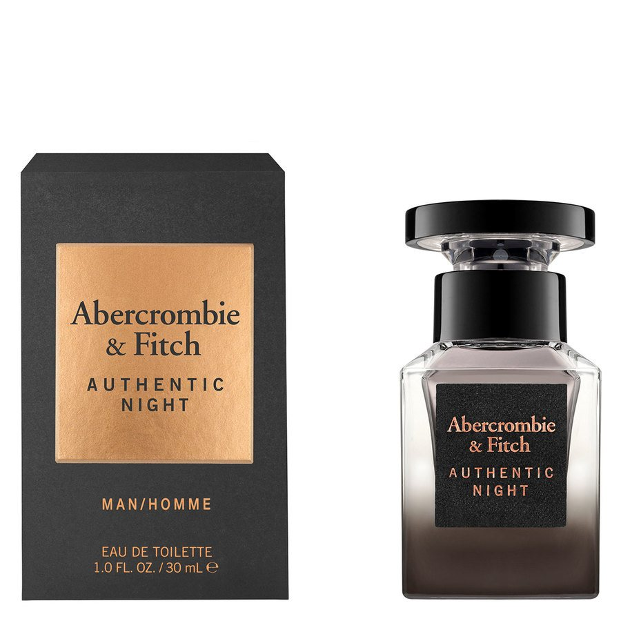 Abercrombie & Fitch Authentic Night Eau De Toilette 30 ml