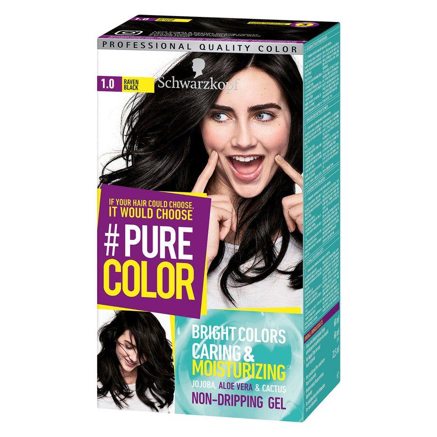 Schwarzkopf Pure Color 142 g ─ 1.0 Raven Black
