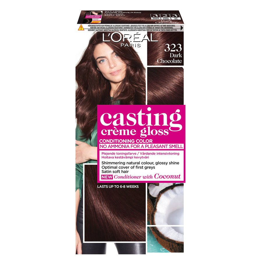 L'Oréal Paris Casting Crème Gloss 323 Dark Chocolate