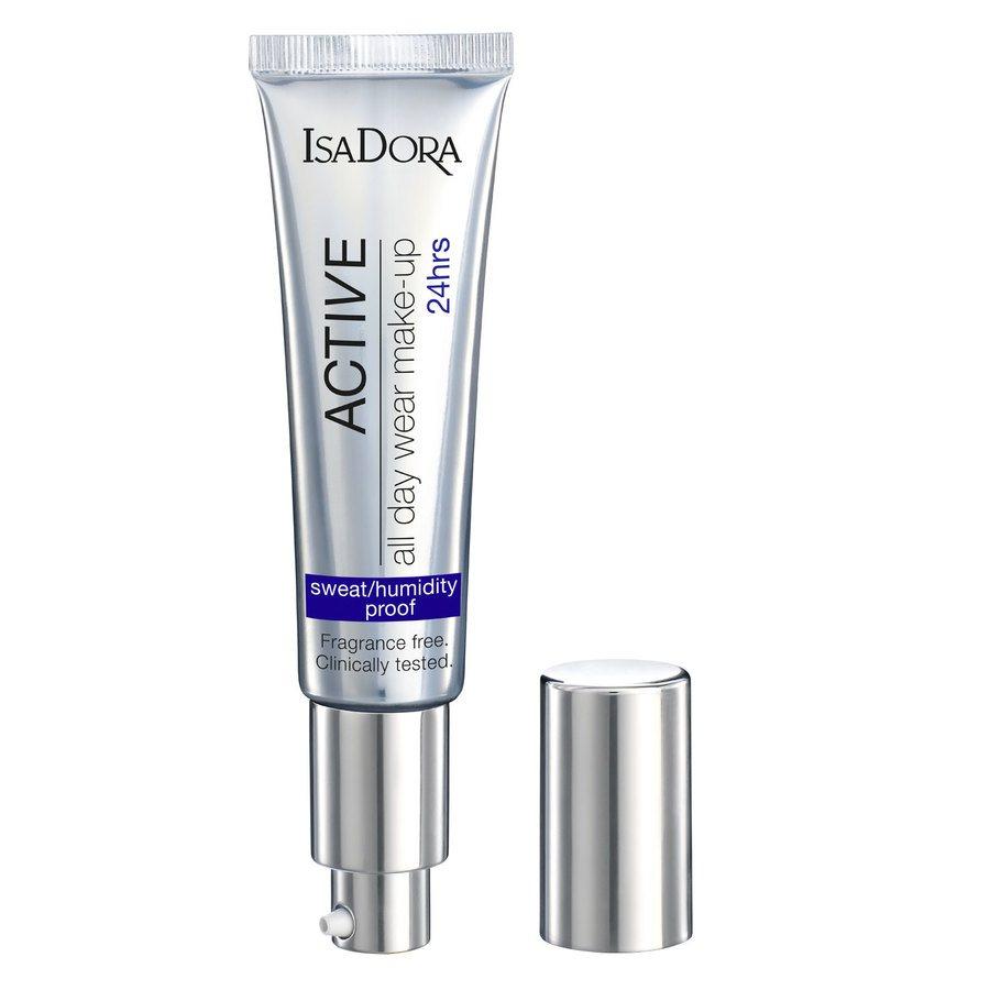 IsaDora Active All Day Wear Makeup 35 ml – 16 Warm Beige