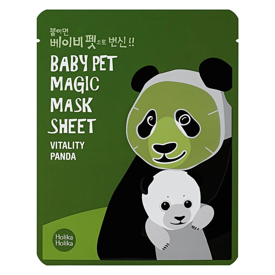 Holika Holika Baby Pet Magic Mask Sheet 22 ml – Panda