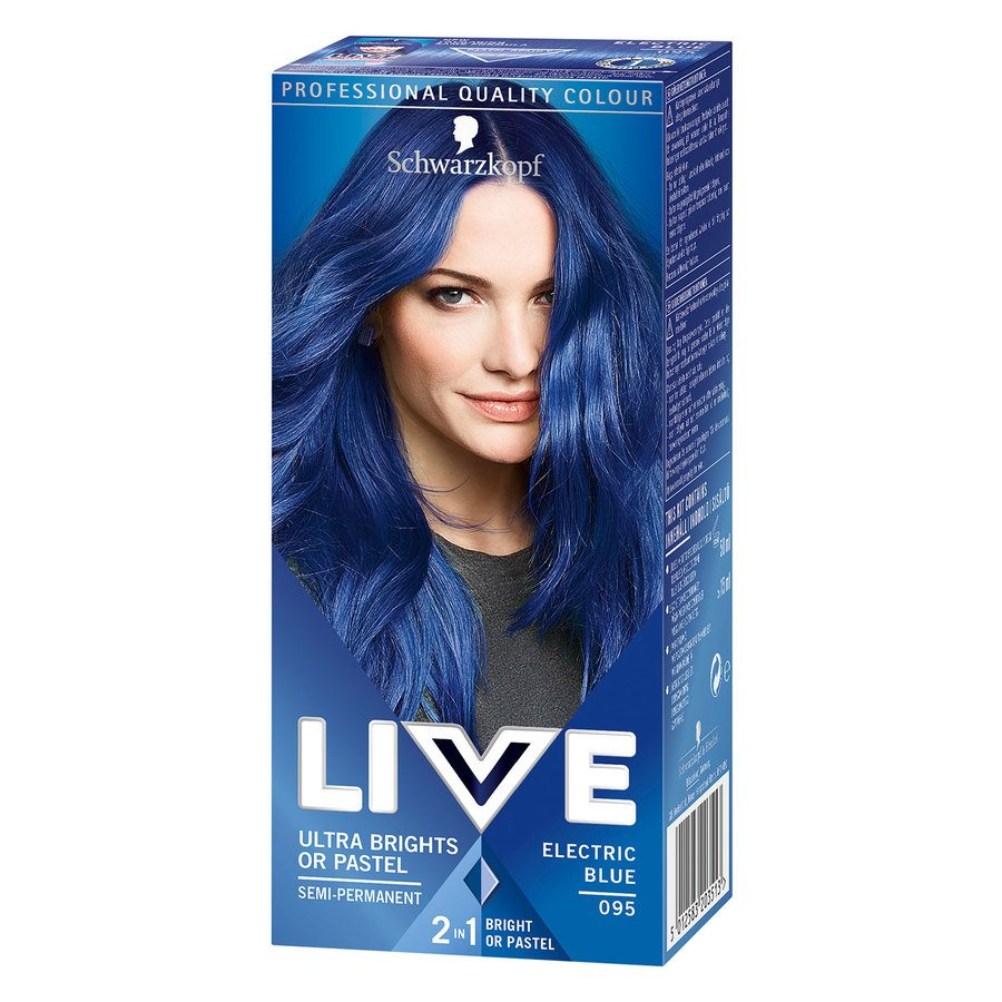 Schwarzkopf Live Ultra Bright – 95 Electric Blue