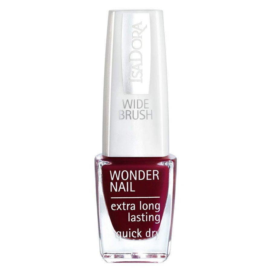 IsaDora Wonder Nail Wide Brush 6 ml ─ #641 Femme Fatal
