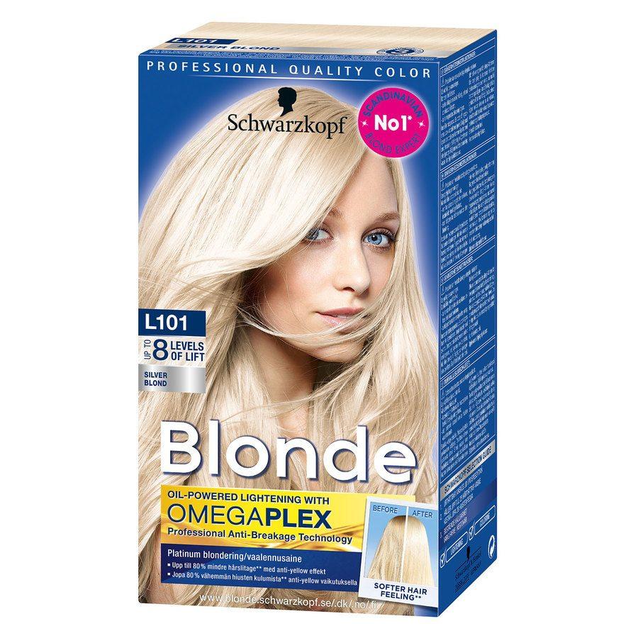 Schwarzkopf Blonde L101 Silver Blonde
