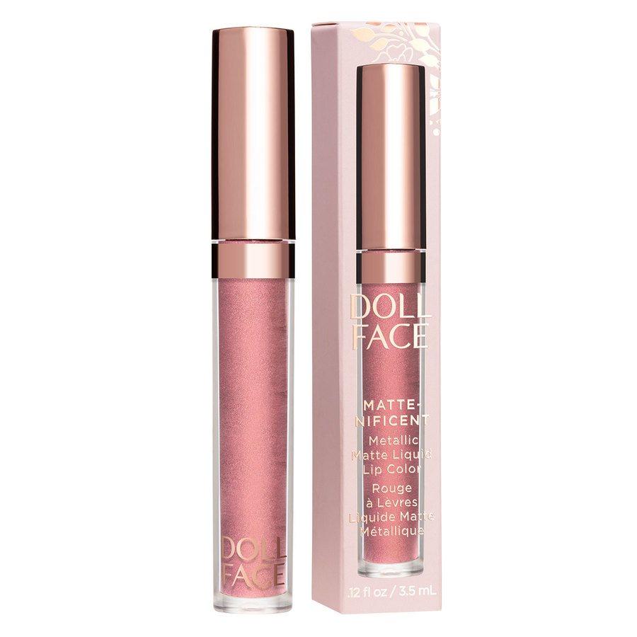 Doll Face Matte-nificent Matte Liquid Lip Color 3,5 ml ─ Astrid Rose
