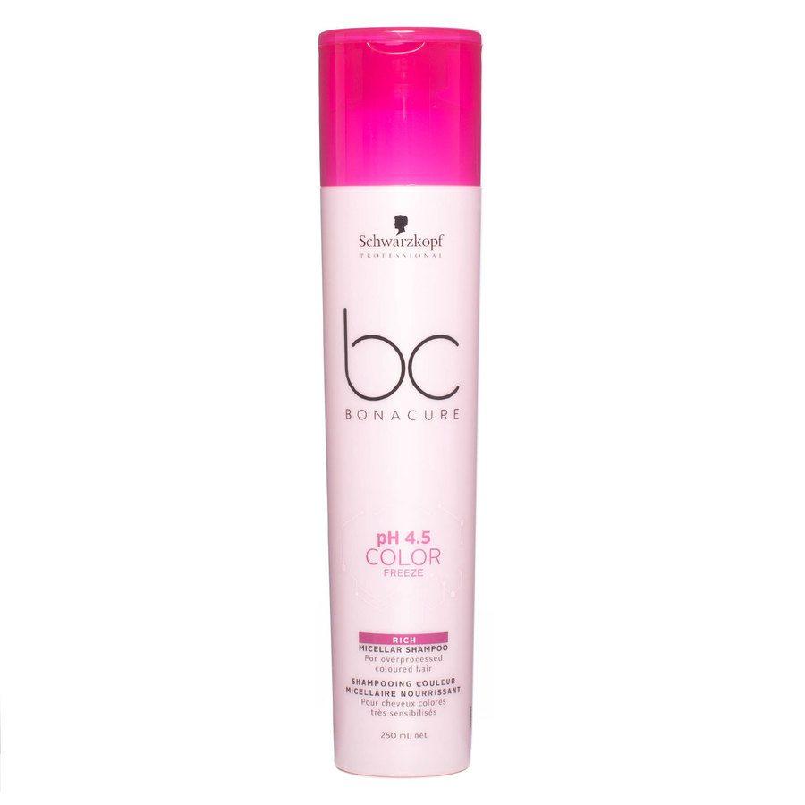 Schwarzkopf BC Bonacure Color Freeze Rich Shampoo 250 ml