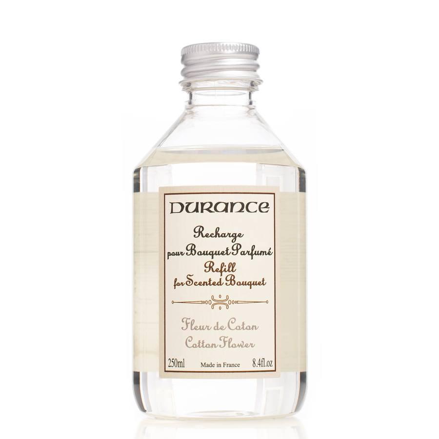 Durance Huonetuoksu Refill 250 ml ─ Cotton Flower