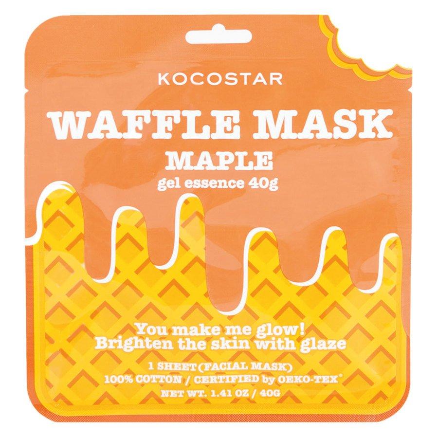 Kocostar Waffle Mask 40 g ─ Maple