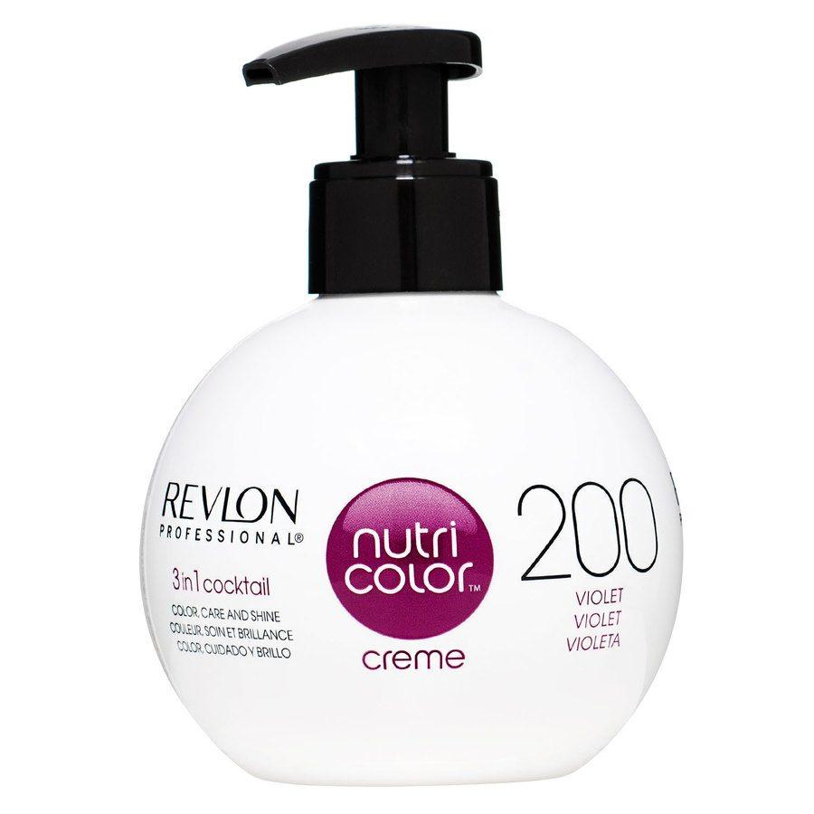 Revlon Professional Nutri Color Creme 250 ml – 200 Violet