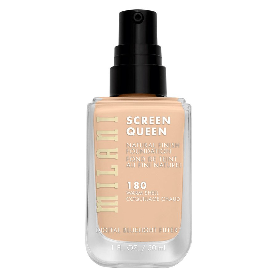 Milani Screen Queen Foundation 30 ml ─ 180W Warm Shell