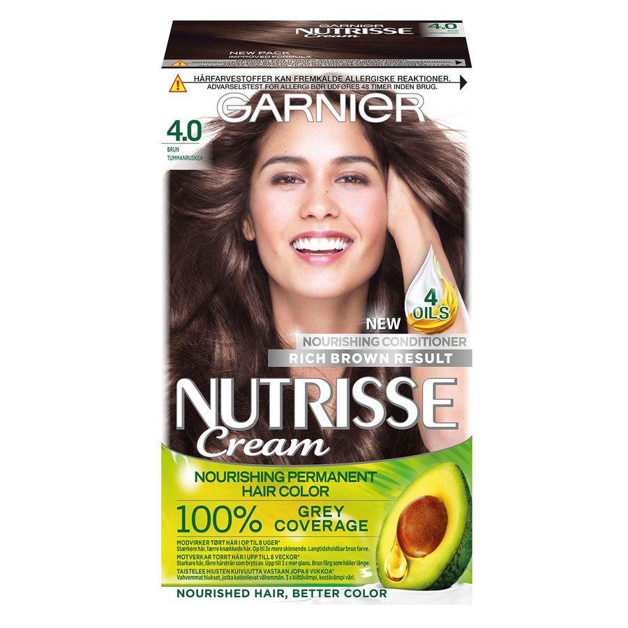 Garnier Nutrisse Cream 4.0 Tummaruskea