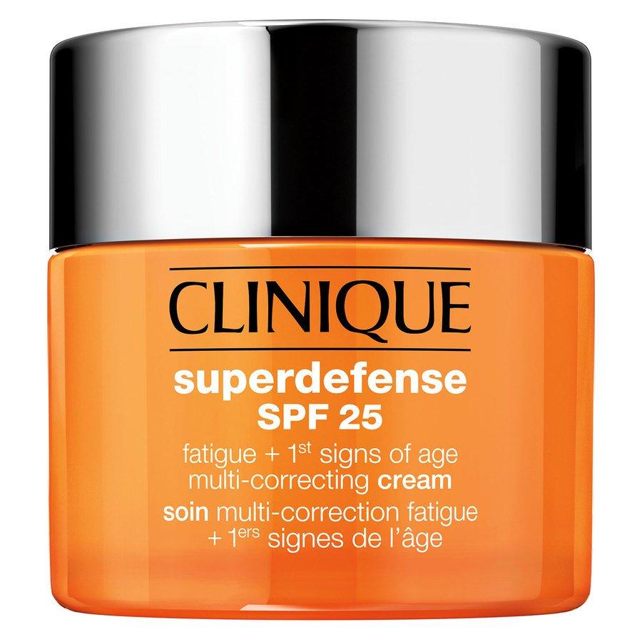 Clinique Superdefense SPF25 Fatigue + 1st Signs Of Age Multi-Correcting Cream Skin Type 1+2 50ml