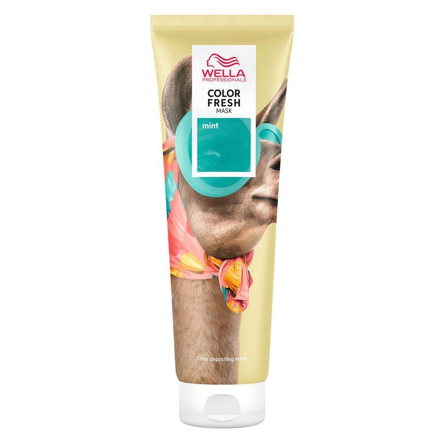 Wella Professionals Color Fresh Mask 150 ml ─ Mint