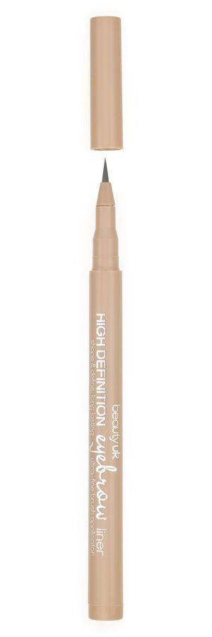 Beauty UK High Definition Eyebrow Liner – No.1 Ash Brown 1ml
