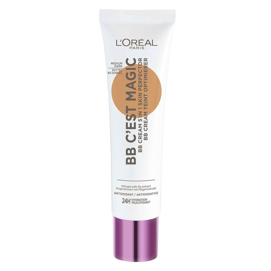L'Oréal Paris C'est Magique Skin Perfector BB Cream Medium Dark #5 30ml