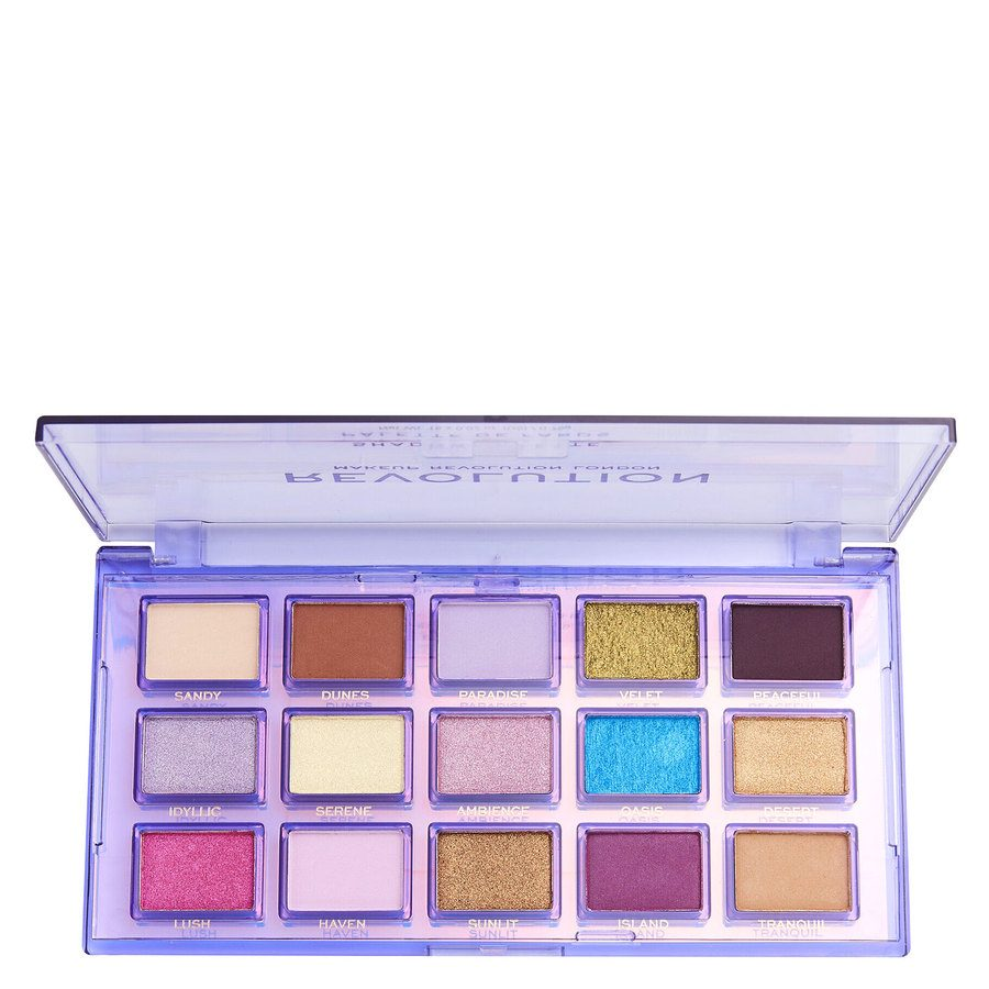 Revolution Beauty Makeup Revolution Reflective Eye Shadow Palette Ultra Violet 15 x 0,75g