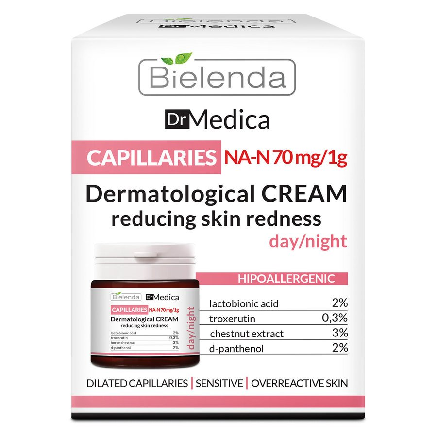 Bielenda Dr Medica Dermatologic Anti-Redness Face Cream Day/Night 50 ml