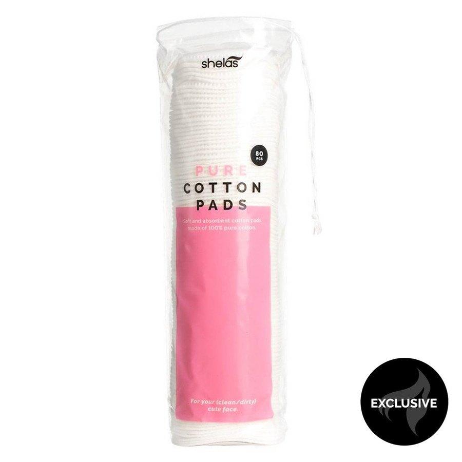Shelas Pure Cotton Pads 80 kpl