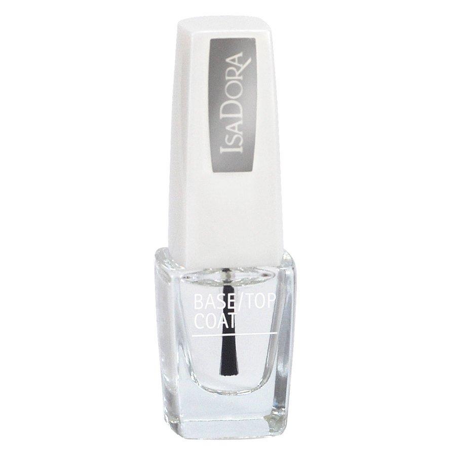 IsaDora Wonder Nail Base/Top Coat 6 ml ─ #600 Clear